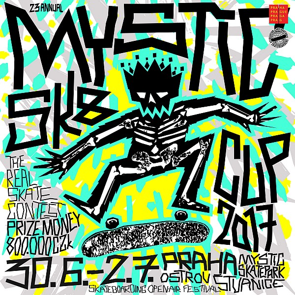 23th ANNUAL MYSTIC SK8 CUP 2017 / JUNE 30 – JULY 2 / the real skate contest