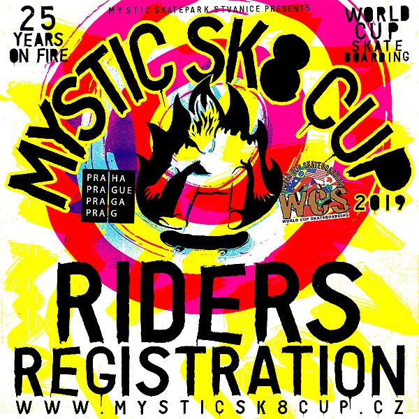 Riders registration